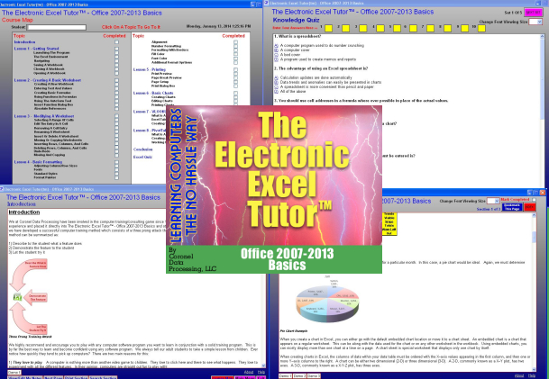 CoronelDP's Excel 2007-2013 Tutor Screen shot