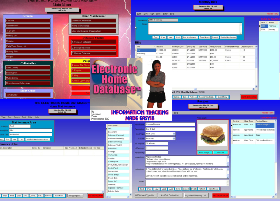 Click to view CoronelDP's Home Database 2010.12 screenshot